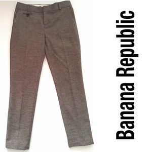 {Banana Republic} Brown Martin Fit Pants